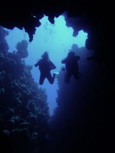 Canyon Dahab dive site